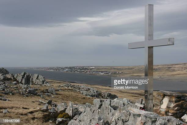 CONTENT] Memorial on Wireless Ridge which is just outside Stanley Falkland Islands and remembers those killed in the 1982 Conflict