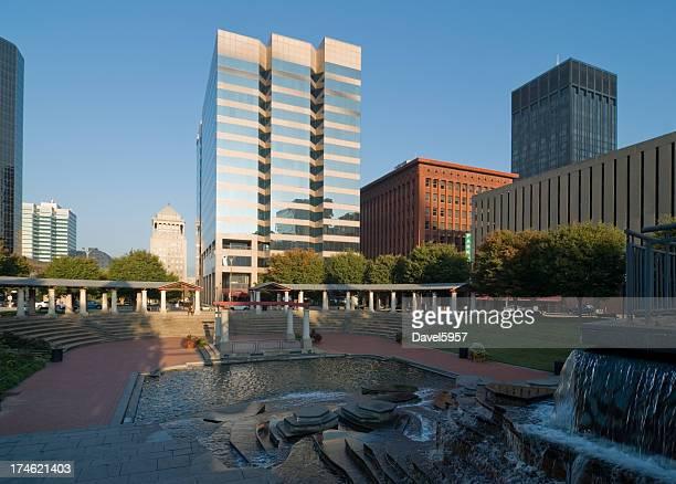 Memorial Plaza in St. Louis