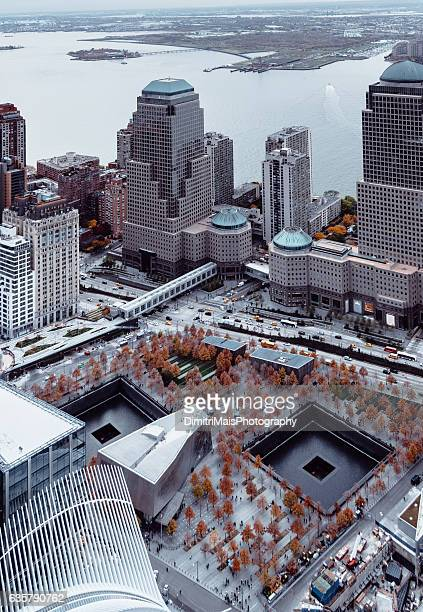 9/11 Memorial Pools - Aerial view