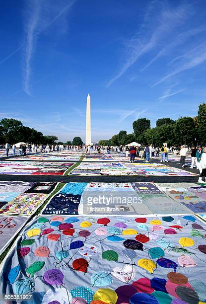 AIDS Memorial Quilt, Washington DC, USA