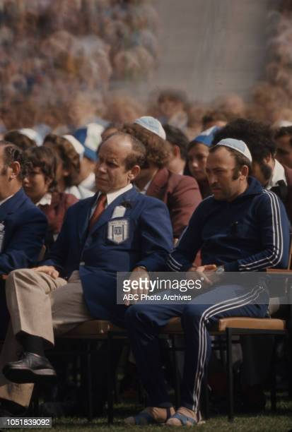 Memorial service for the killed hostages at the 1972 Summer Olympics / the Games of the XX Olympiad Olympic Stadium the Munich massacre