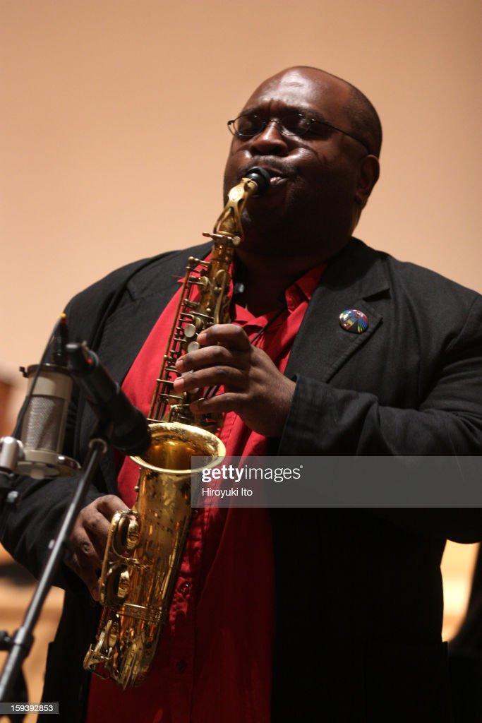 Darius Jones : News Photo