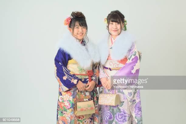 Memorial shoot at the studio, Japanese female college students