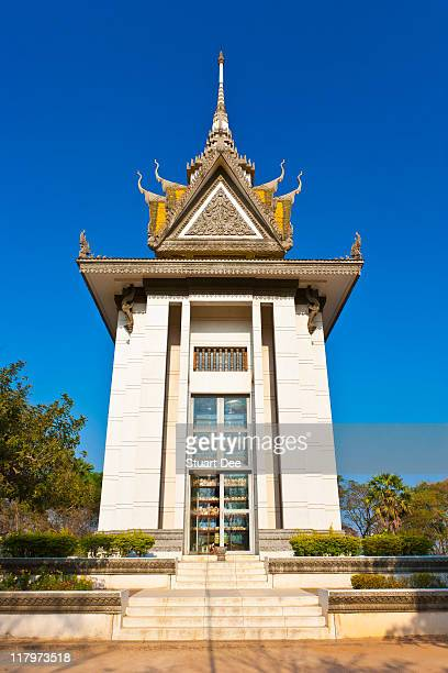 Memorial Stupa, Killing Fields, Cambodia