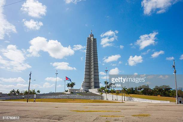 memorial to jose marti in havana city - plaza de la revolución havana stock photos and pictures