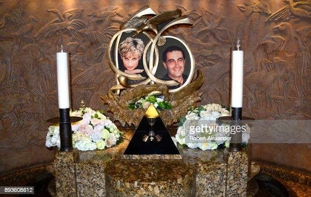 A memorial to Princess Diana and Dodi Fayed is an attraction at Harrods department store in London England The memorial was installed in 2005 by...