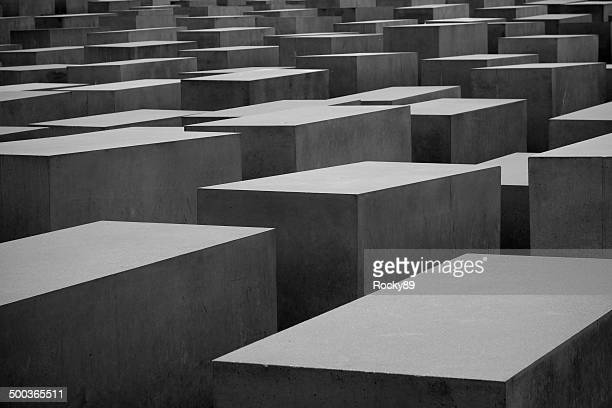 memorial to the murdered jews in europe - hitler death stock pictures, royalty-free photos & images