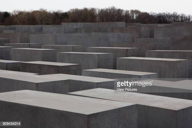Memorial to the Murdered Jews of Europe Berlin Germany Architect Peter Eisenman 2005 Image of the Jewish Memorial Stone work