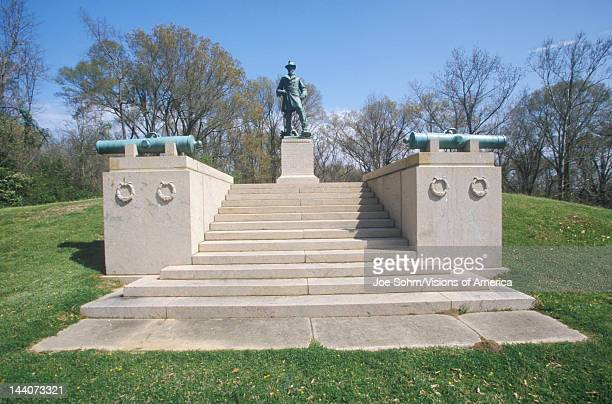 Memorial to US Lieutenant Colonel William Freeman Vilas of 1863 at Vicksburg National Military Park MS