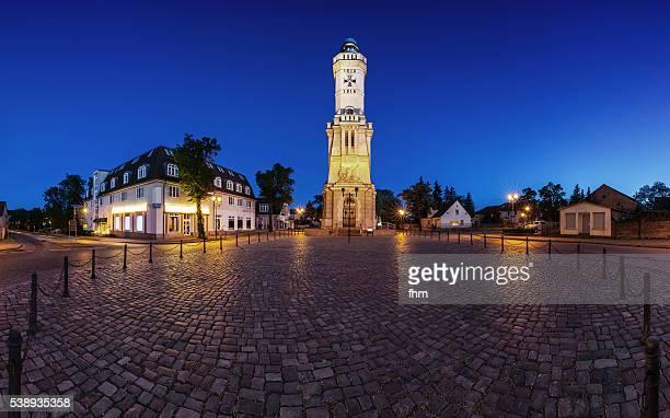 'Memorial tower at the Battle of Großbeeren in 1813', in Großbeeren, a village near the german capital Berlin