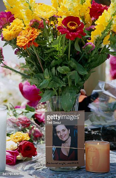 Memorial was arranged at the site of the deadly Santa Monica Farmer's Market crash that killed 10 people and injured 63 others. George Russell Weller...