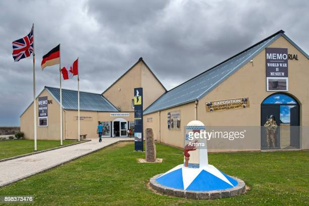 Memorial World War II Museum at Quineville Manche Normandy France