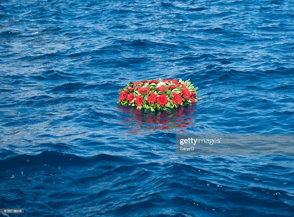 memorial wreaths : Stockfoto