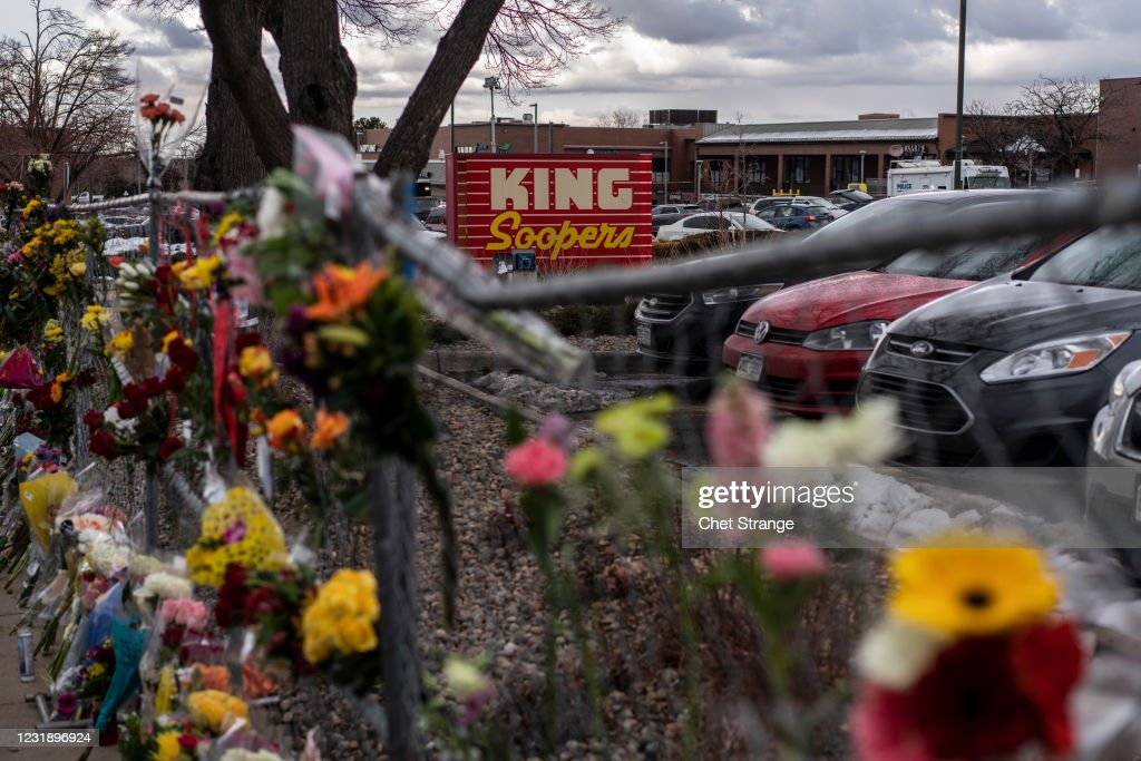 Gunman Opens Fires At Grocery Store In Boulder, Colorado : News Photo