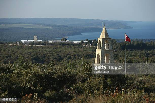 Memorials that commemorate the Gallipoli Campaign, including the Turkish 57th Infantry Regiment Memorial and the Australian Lone Pine Memorial ,...