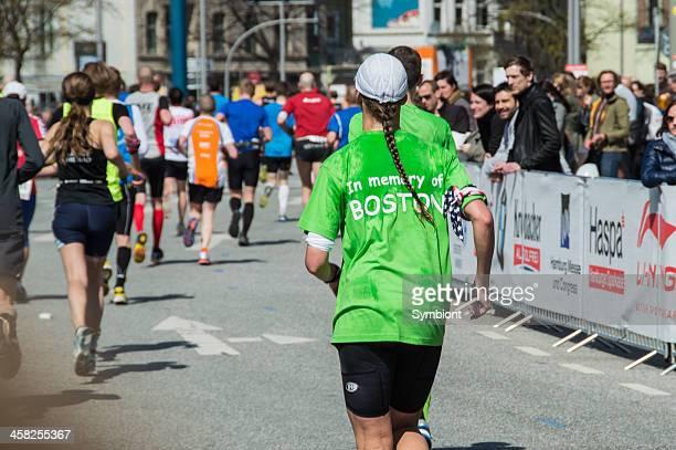 Memory run for the victims of Boston Marathon 2013