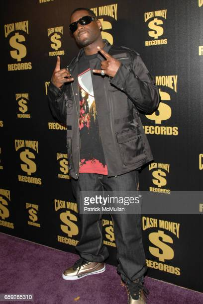 Memphis attends Cash Money Records First Annual PreGrammy Party Honoring Lil Wayne at Montage Beverly Hills on February 7 2009 in Beverly Hills...