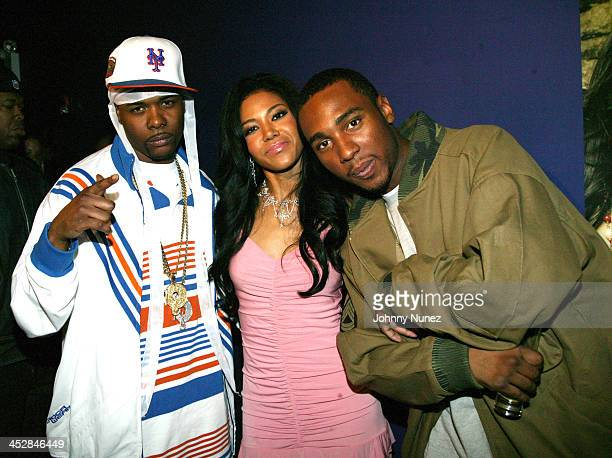 Memphis Bleek Amerie and Young Neef during Amerie Album Release Party for Touch April 26 2005 at Quo in New York New York United States
