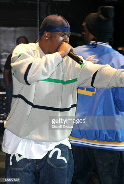 Memphis Bleek during Kanye West Performs at Webster Hall at Webster Hall in New York City New York United States