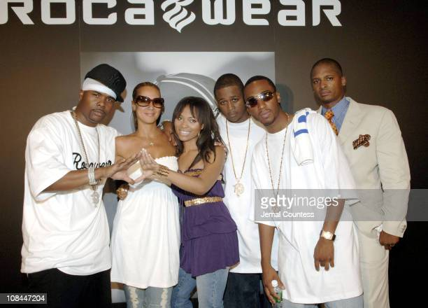 Memphis Bleek Tracey Waples Sr Vice President of Marketing at Def Jam Teairra Mari Young Gunz and Jameel Spencer Cheif Marketing Officer of Rocawear...