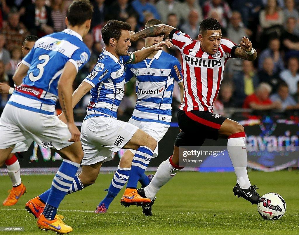 "Dutch Eredivisie - ""PSV v PEC Zwolle"" : News Photo"