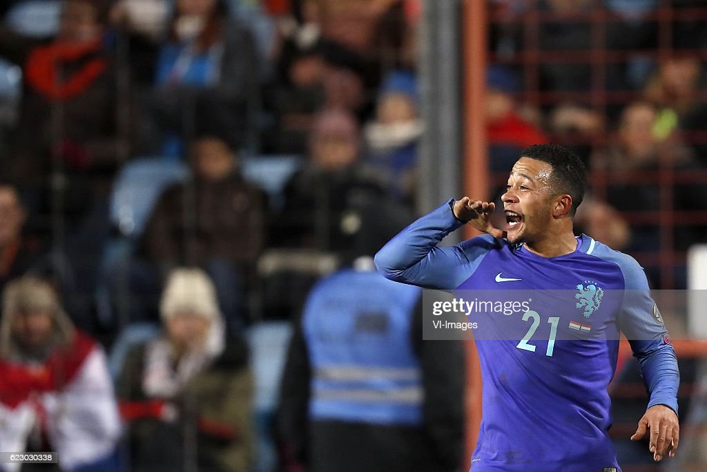 """FIFA World Cup 2018 qualifying group A""""Luxembourg v Netherlands"""" : News Photo"""