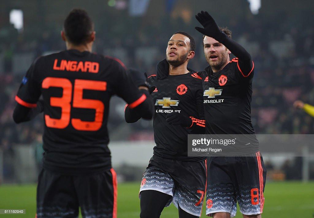 FC Midtjylland v Manchester United - UEFA Europa League Round of 32: First Leg