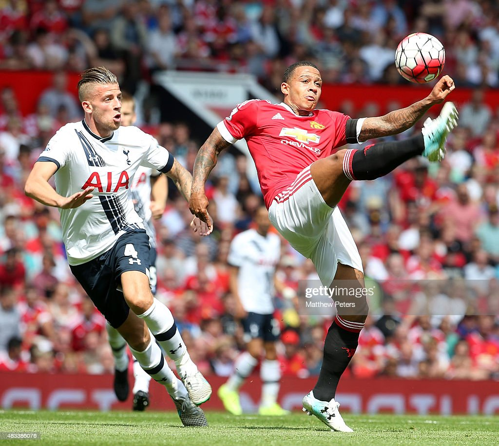 Manchester United v Tottenham Hotspur - Premier League : Fotografía de noticias