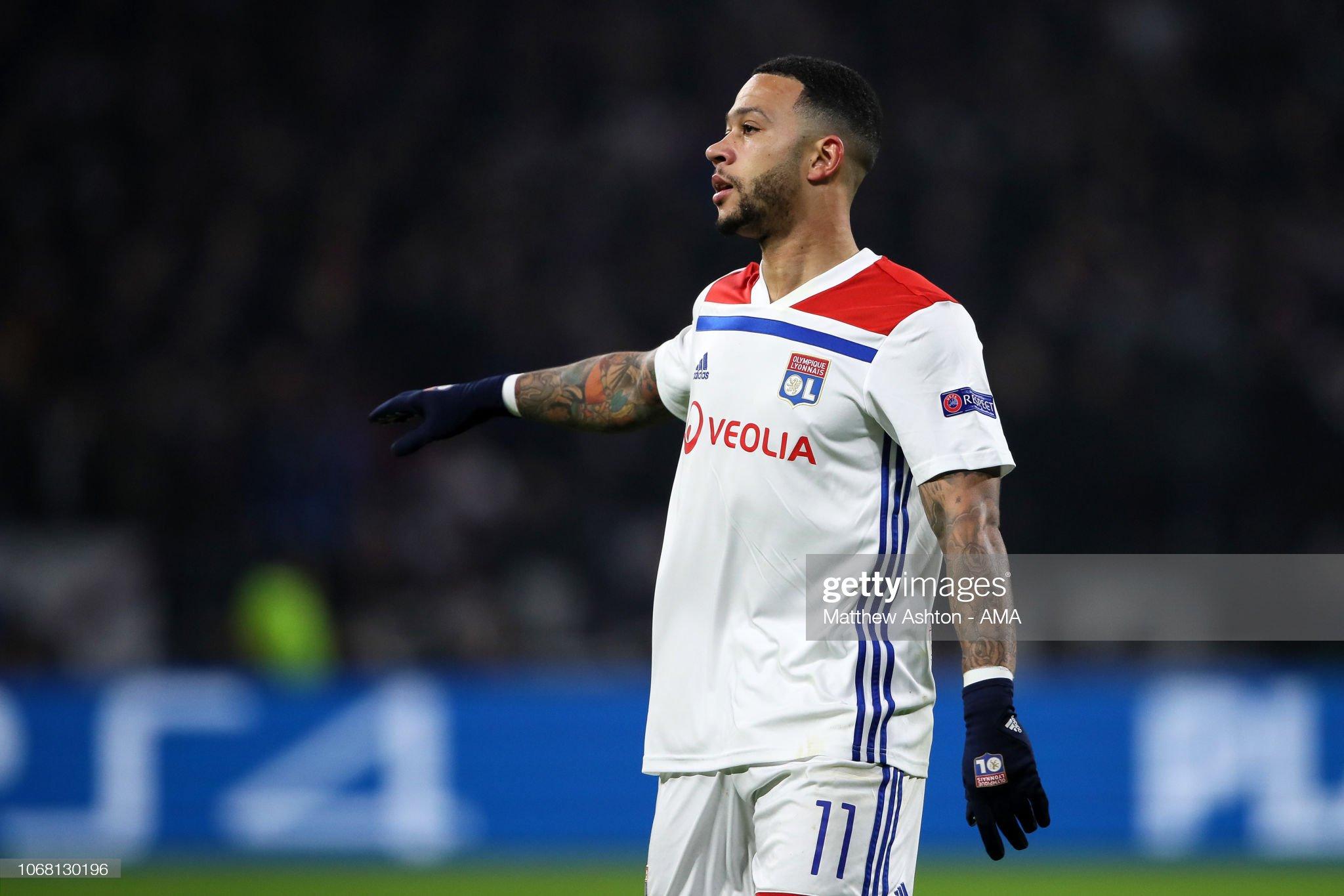 Olympique Lyonnais v Manchester City - UEFA Champions League Group F : News Photo