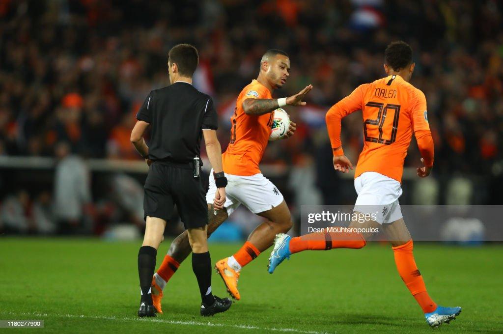 Netherlands v Northern Ireland - UEFA Euro 2020 Qualifier : News Photo