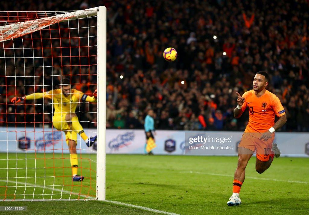 Netherlands v France - UEFA Nations League A : News Photo