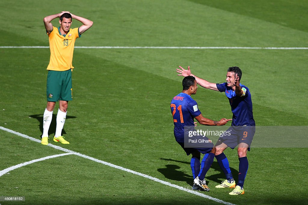 Australia v Netherlands: Group B - 2014 FIFA World Cup Brazil : News Photo