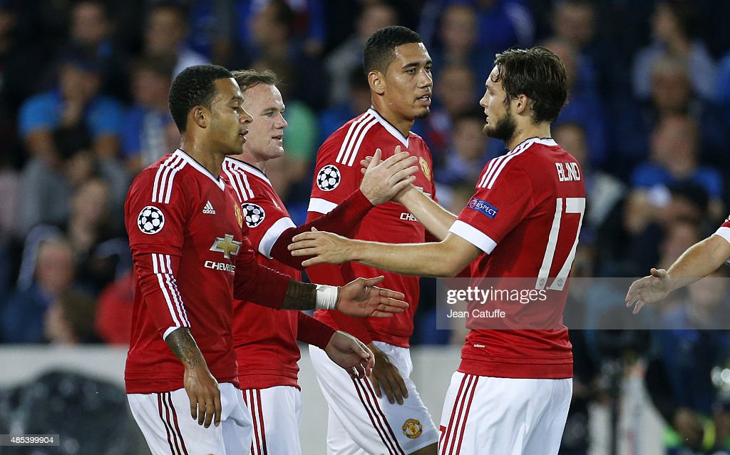 Club Brugge v Manchester United - UEFA Champions League Play Off Round 2nd Leg : News Photo