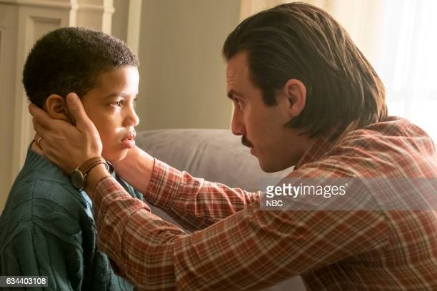 """Memphis"""" Episode 116 -- Pictured: Lonnie Chavis as 9 year old Randall, Milo Ventimiglia as Jack --"""