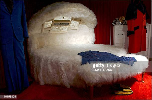 Elvis Bedroom Stock Pictures Royalty