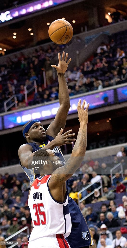 Memphis Grizzlies vs Washington Wizards : News Photo