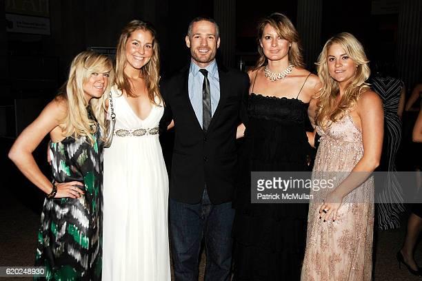 "Memphis Hackl, April Grunow, Reed Woodson, Sibyl Fenwick and Paige Bradbury attend CAROLINA HERRERA ""Gilded Pleasure"" APOLLO CIRCLE Benefit at The..."