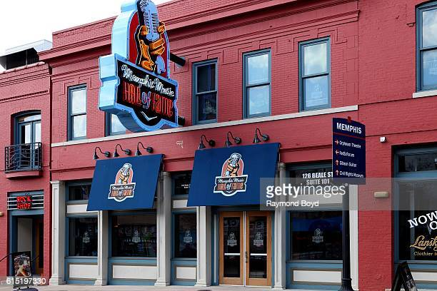 Memphis Music Hall Of Fame in Memphis Tennessee on October 3 2016