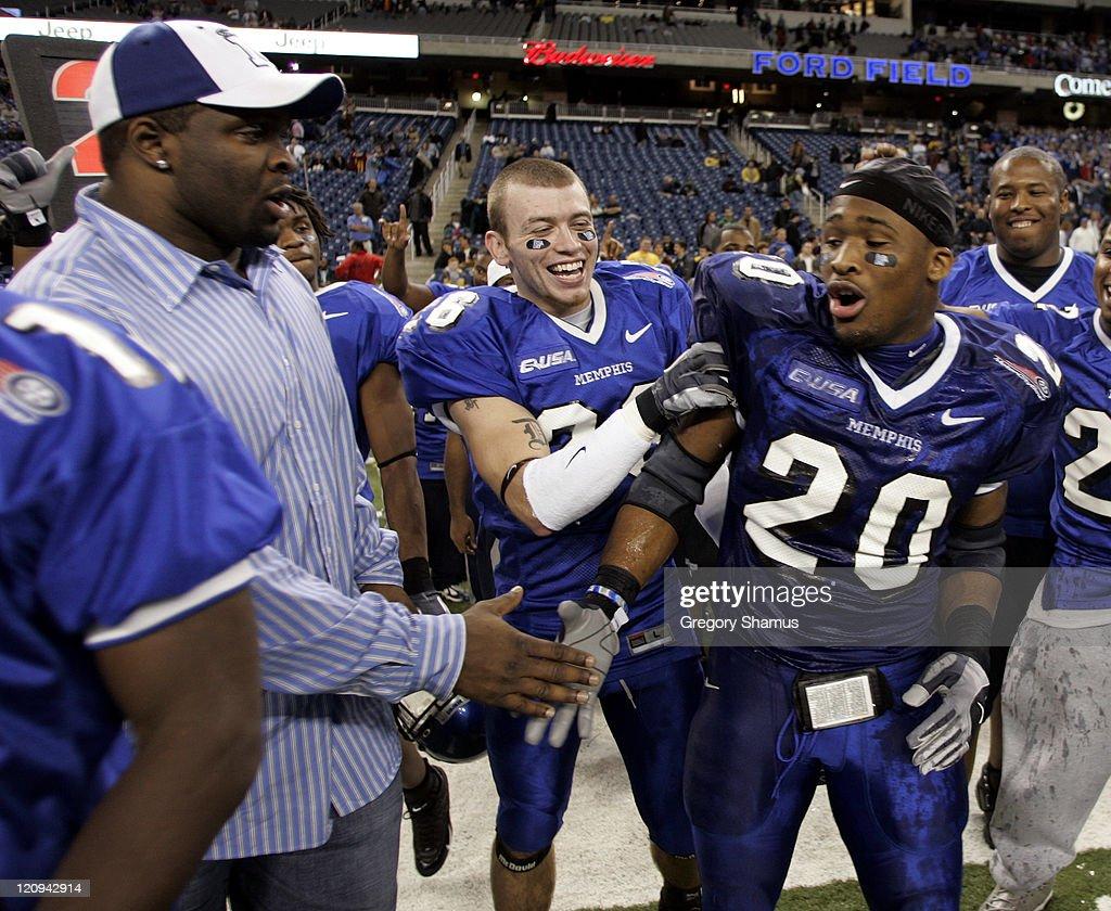 NCAA Football - Motor City Bowl - Memphis vs Akron - December 26, 2005