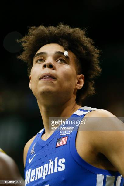 Memphis Tigers guard Lester Quinones during the college basketball game between the Memphis Tigers and South Florida Bulls on January 12 2020 at the...