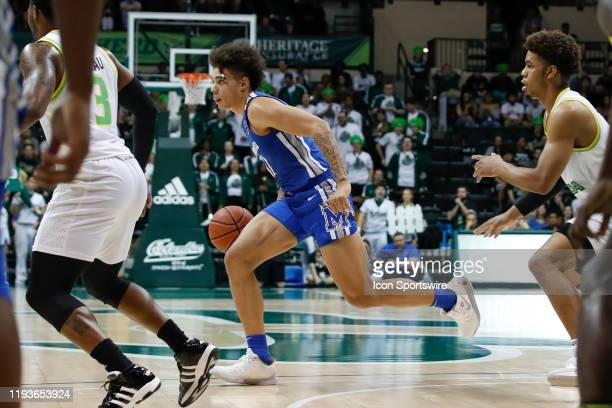 Memphis Tigers guard Lester Quinones in action during the college basketball game between the Memphis Tigers and South Florida Bulls on January 12...
