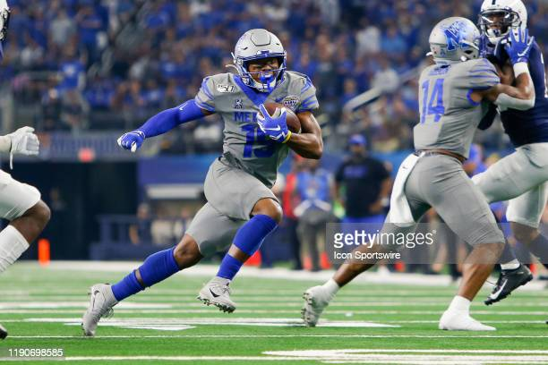 Memphis Tigers tight end Drew Martin runs with the ball during the Cotton Bowl Classic between the Memphis Tigers and Penn State Nittany Lions on...