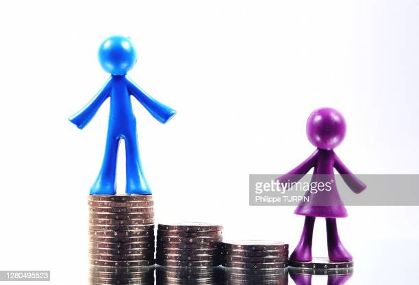 men and women pay difference - equality stock pictures, royalty-free photos & images