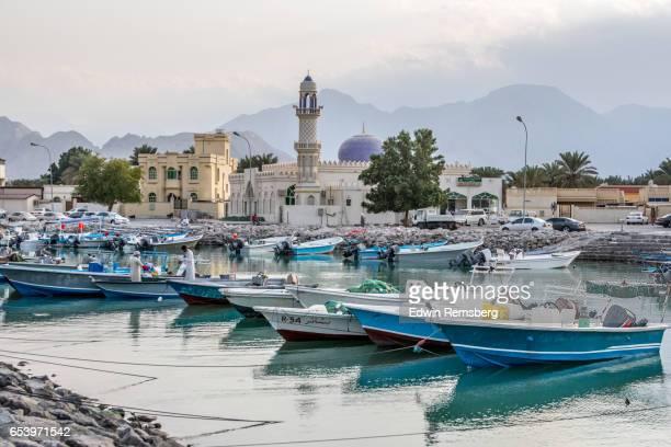 Men at Khasab Harbor