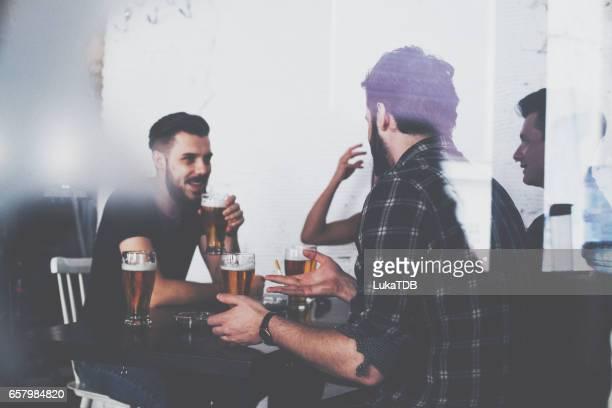 Men at the bar
