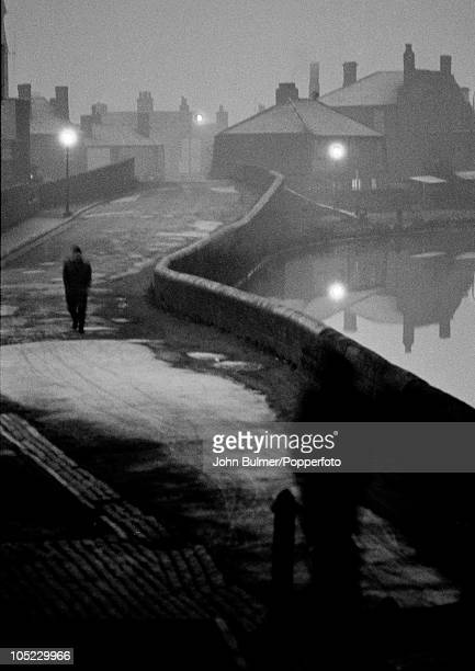 A street in Tipton in the Black Country West Midlands January 1961 The area was known for its coal mines and iron foundries