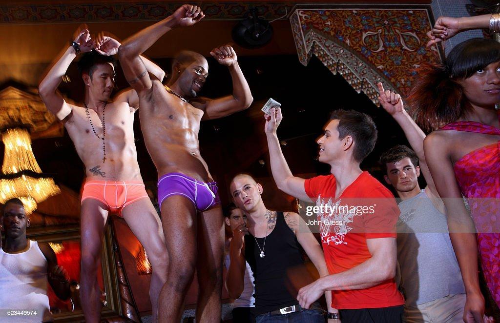 Gay dancing club