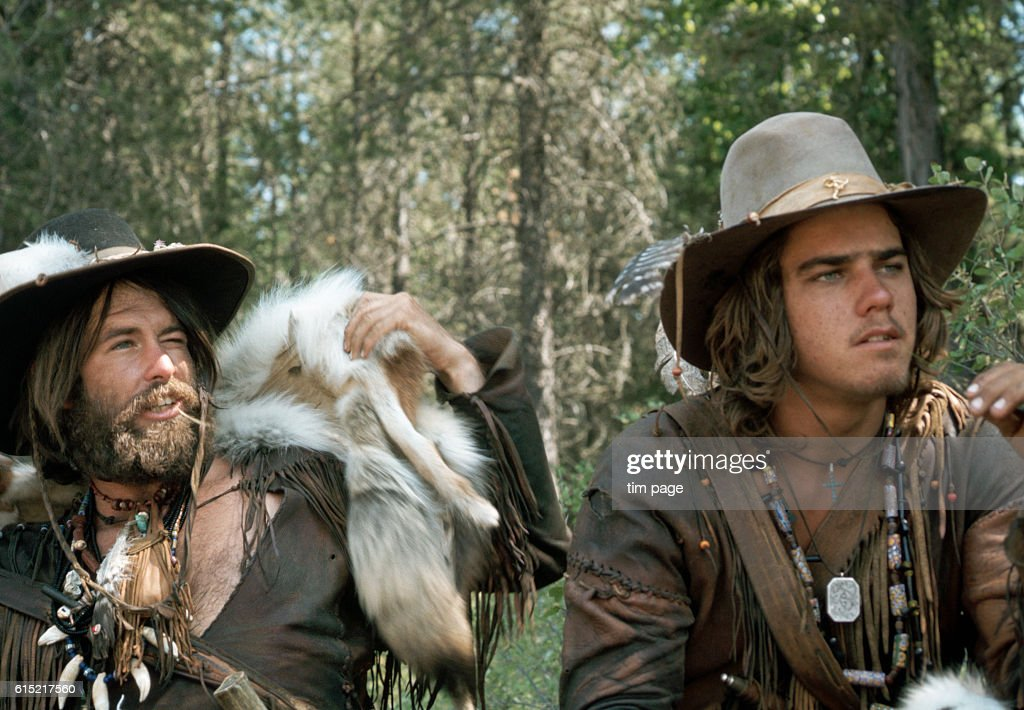 Men Dressed as Pioneers Recreate the Lewis and Clark Trail : News Photo