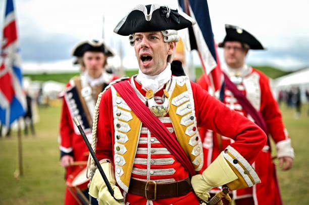 GBR: Battle Of Prestonpans Re-Enactment