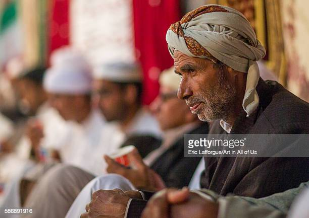 Men during a wedding ceremony qeshm island tabl Iran on December 22 2015 in Tabl Iran